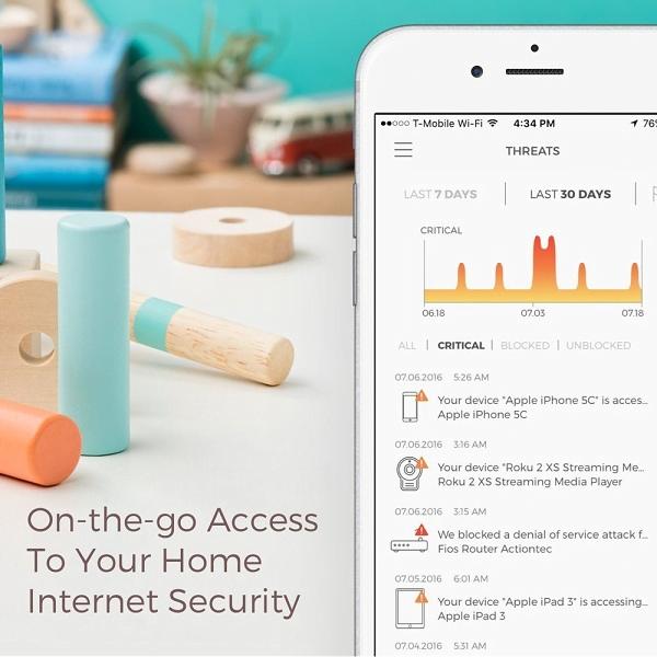 Cortafuegos de seguridad de Internet CUJO para dispositivos inteligentes 3