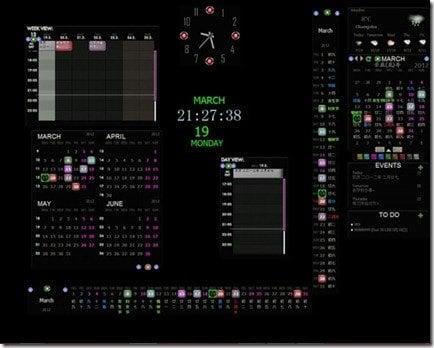Rainlendar Lite - Una aplicación de calendario personalizable para el escritorio de Windows