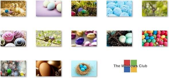 Descargar el tema Huevos decorados para Windows 7