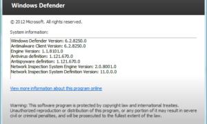 En Windows 8, Windows Defender es en realidad Microsoft Security Essentials