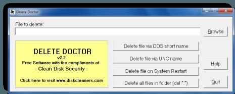 Software Free File Deleter para eliminar archivos y carpetas bloqueados en un PC con Windows 10/8/7 4