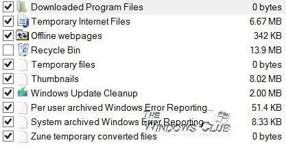 Automatice el funcionamiento de la herramienta mejorada de Liberador de espacio en disco en Windows 10/8/7 2