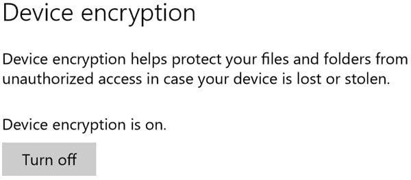 Por qué Microsoft almacena la clave de cifrado de dispositivos de Windows 10 en OneDrive