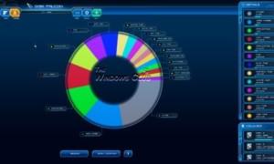 Disk Falcon: Una aplicación futurista de Disk Scanner & Analyzer para Windows 8, basada en un motor de juego.