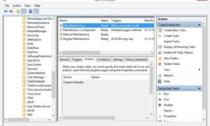 Ejecutar, detener, programar, desactivar el mantenimiento automático en Windows - Preguntas frecuentes