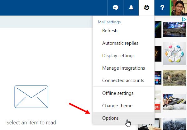 Cómo desactivar la vista previa de enlaces en Outlook Web 2