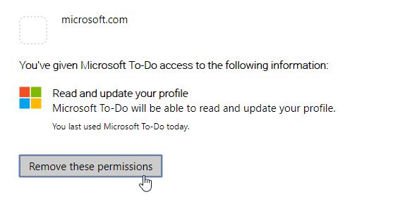 Cómo eliminar o deshabilitar una cuenta de tareas de Microsoft