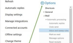 Cómo reenviar correo electrónico o desactivar el reenvío no autorizado en Outlook.com