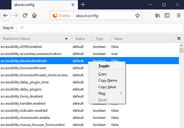 Cómo evitar que una página web se actualice automáticamente en Chrome o Firefox
