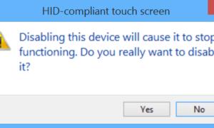 Desactivar la funcionalidad de la pantalla táctil en Windows 10