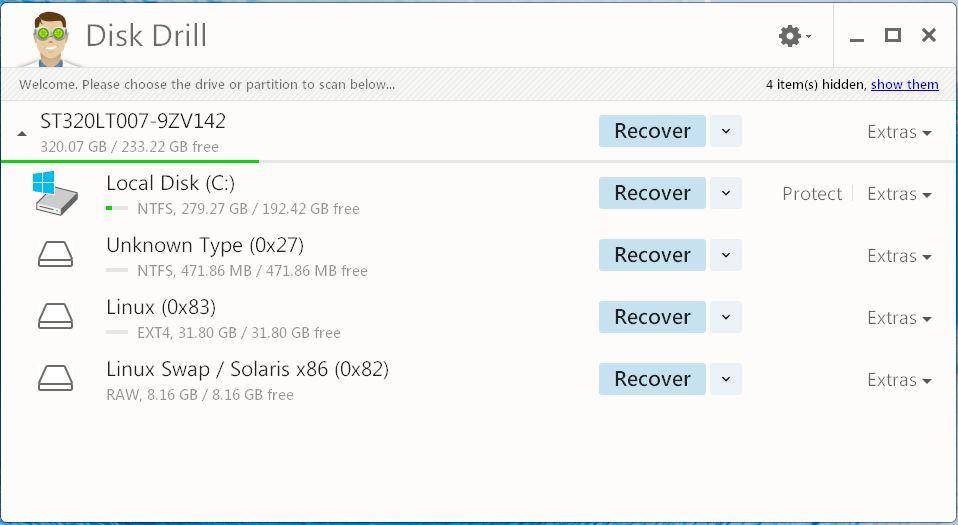 Recuperar archivos eliminados accidentalmente con Disk Drill para Windows