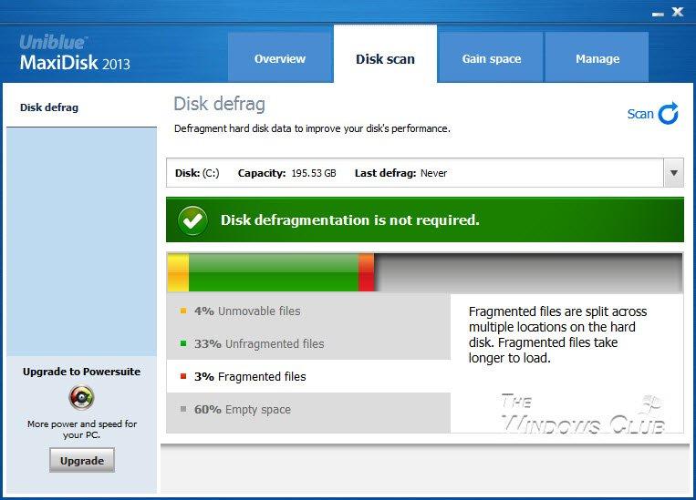 Revisión y descarga de MaxiDisk 5
