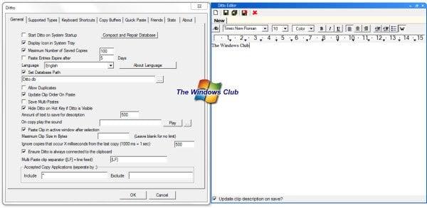 Ídem: Una potente extensión de portapapeles para el portapapeles de Windows 1