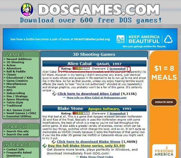 Juega juegos de MS DOS en línea en estos 5 sitios principales 3