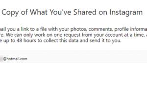 Cómo descargar datos de Instagrama usando la Herramienta de Exportación de Datos de Instagrama