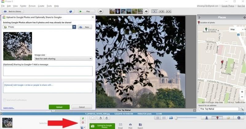 Descarga de la aplicación de escritorio de Picasa para Windows 7