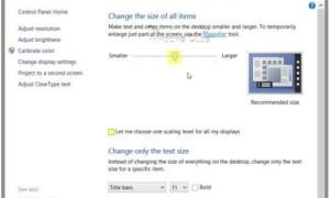 Solucionar el problema de las fuentes borrosas en Windows 10