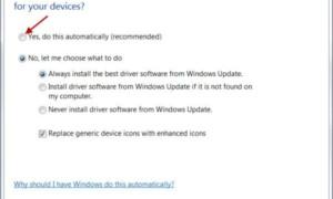 Hacer que Windows descargue los controladores e iconos automáticamente