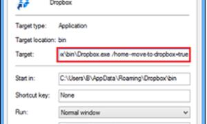 Eliminar la entrada Mover a buzón desde el menú contextual de Windows