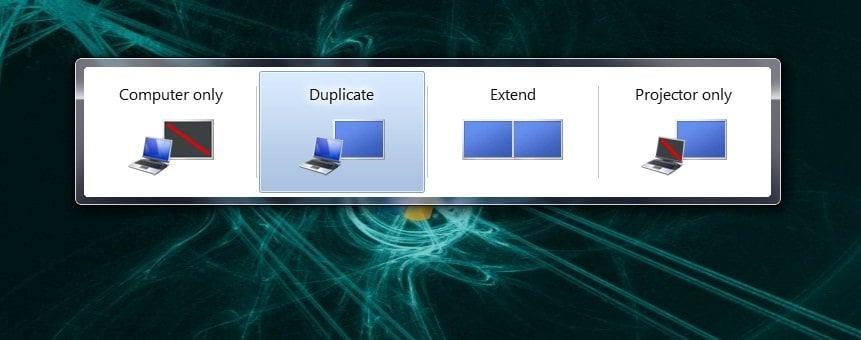 Cómo configurar fácilmente los monitores duales en Windows 7 4