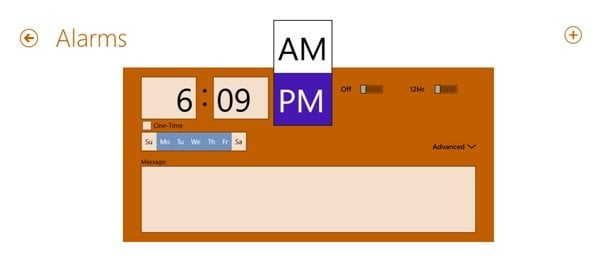 La aplicación eTiles Windows 8 le permite realizar un seguimiento del tiempo, gestionar citas, listas de tareas y mucho más.