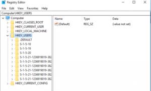 Cómo editar el Registro para otro Usuario en Windows 10