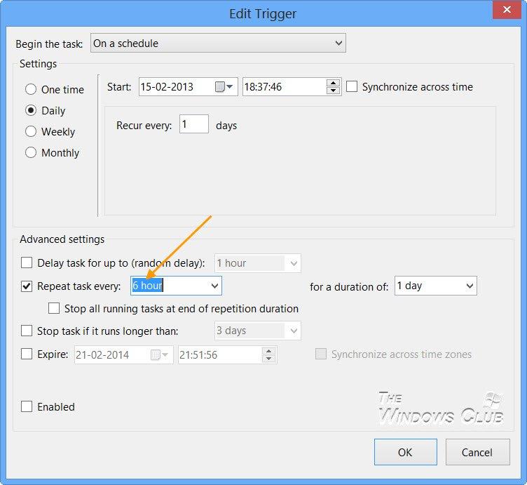 Actualizar Windows Defender incluso cuando las actualizaciones automáticas de Windows están deshabilitadas en Windows 10/8