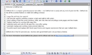 EditPadLite: Una utilidad gratuita de sustitución del Bloc de notas para Windows 10/8/7