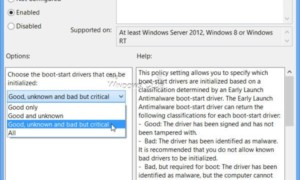 Comprensión de la tecnología de protección antimalware (ELAM) de inicio temprano en Windows
