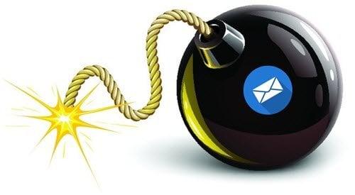 Bombardeo de correo electrónico y formas de protegerse 1