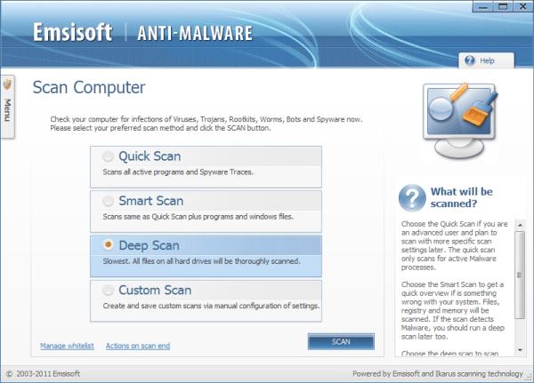 Lanzamiento de Emsisoft Anti-Malware 6 - Promete un 450 por ciento más de velocidad en los escaneos!