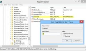 Corrección: Windows Script El acceso al host está deshabilitado en esta máquina