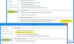 ¿Qué es el Macro Virus?  ¿Cómo activar o desactivar las macros en Office?