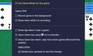 Cómo habilitar y usar el modo de juego en Windows 10