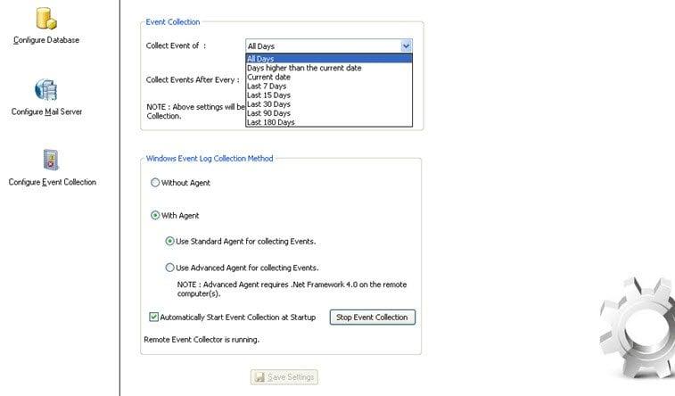 Administrador de registros de eventos: Software gratuito de gestión de registros de eventos 1
