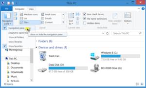 Corrección: Falta el panel de navegación del Explorador en Windows 7/8/10