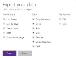 Cómo usar Microsoft Health Web Dashboard en Microsoft Band 2