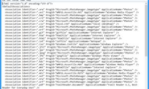 Configurar, exportar e importar asociaciones de archivos de aplicaciones en Windows 10/8.1