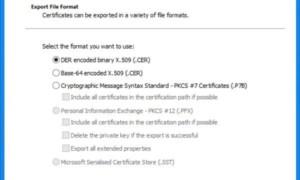 Certmgr.msc o Administrador de certificados en Windows 10/8/7