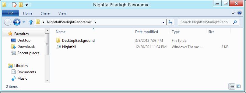 Cómo usar los temas y los paquetes de temas de Windows 8 en Windows 7