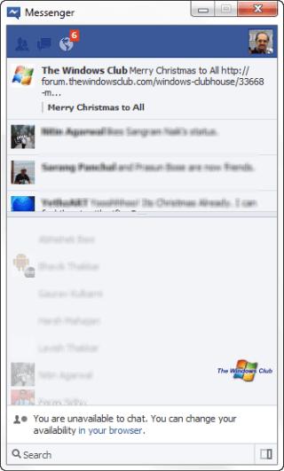 Descargar Official Facebook Messenger for Windows 7 1