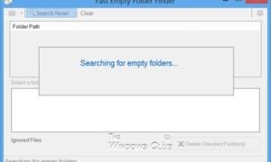 Software gratuito para eliminar carpetas vacías en Windows 10/8/7