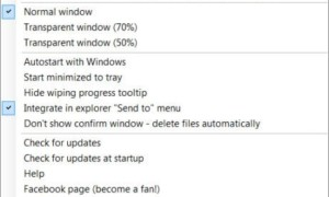 Eliminar archivos permanentemente utilizando el software gratuito File Shredder para Windows 10/8/7