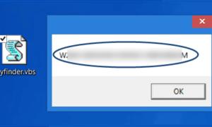 Buscar la clave de producto de Windows 10 con VB Script