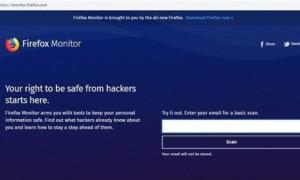Firefox Monitor comprueba si sus datos han sido violados