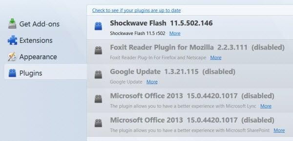 Mozilla Firefox sigue ralentizando en Windows 10/8/7