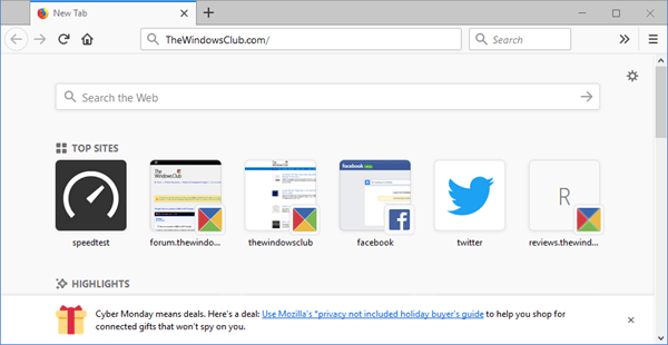 Revisión cuántica de Firefox: El navegador que ofrece más velocidad, características y seguridad 1
