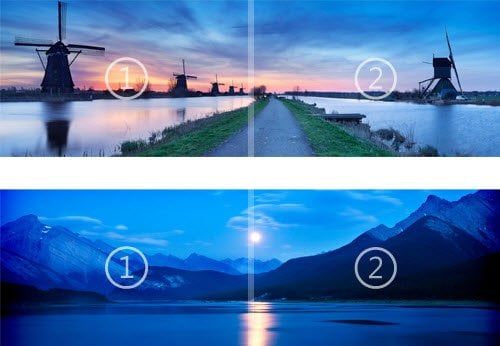 Windows 8 obtiene el primer tema oficial de Microsoft: La caída de la noche y la luz de las estrellas