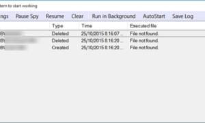 TheFolderSpy le permite realizar un seguimiento de todas las actividades en cualquier carpeta de Windows.
