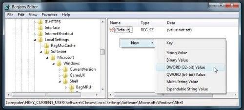 Corrección: Windows olvida la configuración de la vista de carpetas 1
